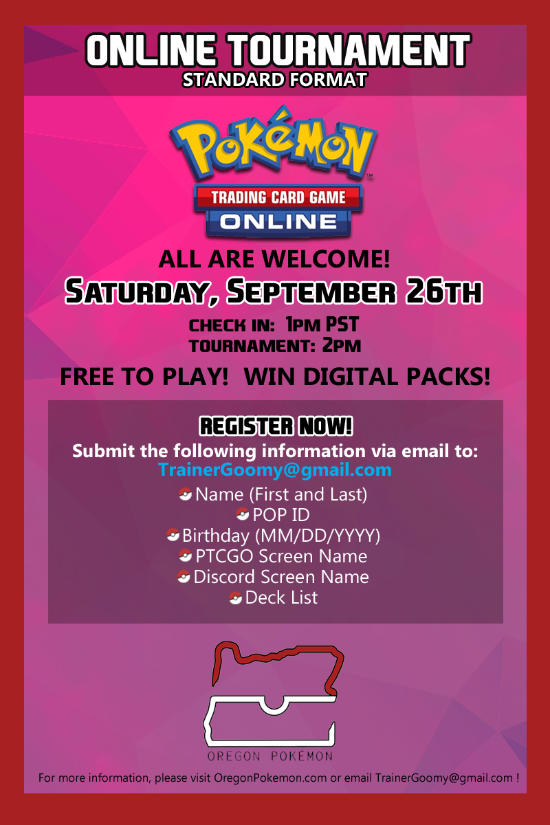 Online Tournament (STANDARD) @ PTCGO